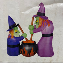 Inflatable - Witches & Cauldron