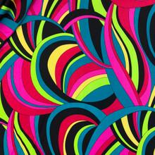 Stretch Knit - Pink & Neons Pucci