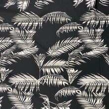 Scuba - Striped Palms on Black