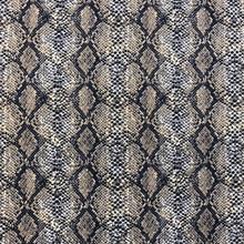 Stretch Knit - Brown Snakeskin