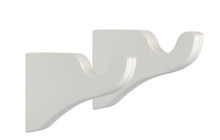 "WoodTrends Wooden Bracket - 3.5"" - White - 1ct"