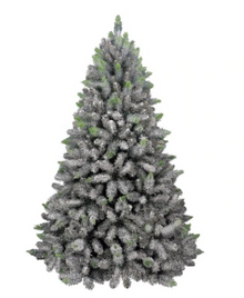 7ft Glittered Arctic Spruce Hook Tree - 1120 Tips