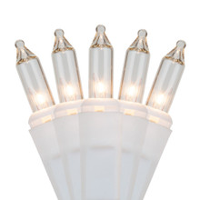 Icicle Lights - 100ct - White/Clear