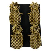 Pineapple Napkin Rings - Set 4