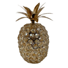 Pineapple Decorative Object - Gold & Crystal