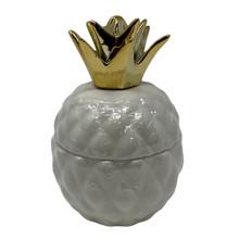 Pineapple Ceramic Candle - Vanilla