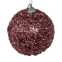 Ball - Crystal Glitter - Blush Pink