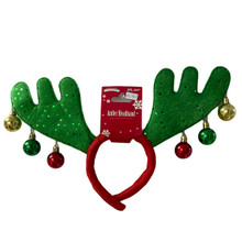 Boppers - Antlers with Ornaments - Red/Green
