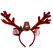 Boppers - Antlers with Bells - Red