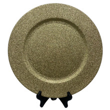 Charger - Glitter - Light Gold
