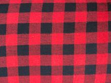 Flannel Buffalo Plaid  - Large