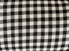 Flannel - Buffalo Plaid - Small - Black & White