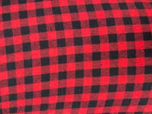 Flannel - Buffalo Plaid - Small - Red & Black
