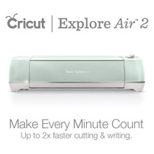 Cricut Air Explore 2 - Mint