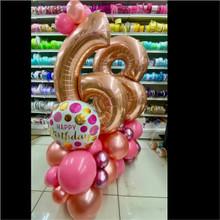 Customized Balloon Decor - Single Digit