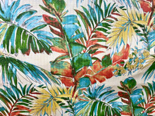 Uph/Drapery - Tropical Leaves - Multi