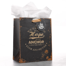 Medium Gift Bag: Hope As An Anchor - Heb 6:19