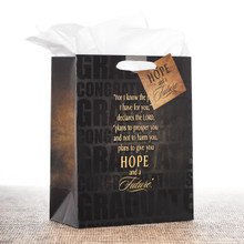 Medium Gift Bag: Journey (Graduate) - Jer 29:11
