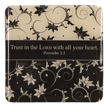 Trust in the Lord Epoxy Magnet - Proverbs 3:5