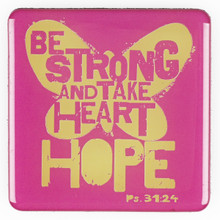 Be Strong Magnet - Psalm 27:14