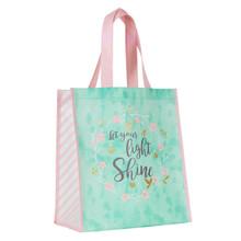 Let Your Light Shine Shopping Bag - Matthew 5:16