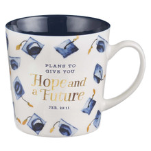 Hope & A Future Ceramic Graduation Mug - Jeremiah 29:11