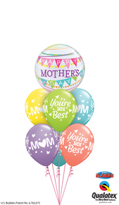 Balloon Bouquet: Banner Mother's Day