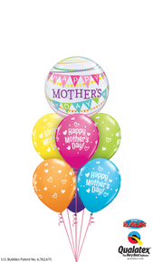 Balloon Bouquet: Mother's Day Heart Party