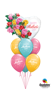 Balloon Bouquet: Rosy Mother's Day