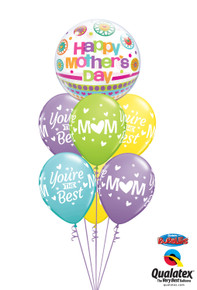 Balloon Bouquet: You're the Best, Mom