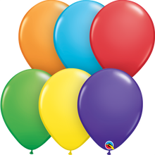"11"" Round Latex Balloon - Solid Colours"