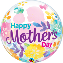 "22"" Bubble Balloon Mother's Day Silhouette"