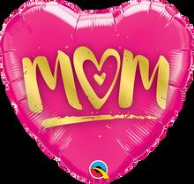 """9"""" Heart Mom"""