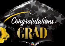 "41"" Shape Congratulations Grad Stars"