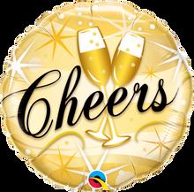 """18"""" Round Cheers Starbursts"""