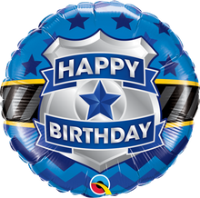 "18"" Round Birthday Badge"