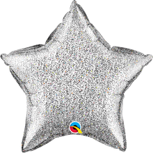 "20"" Star Glittergraphic Silver"