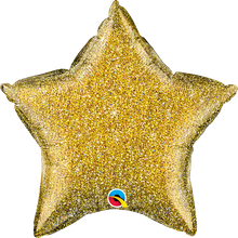 "20"" Star Glittergraphic Gold"