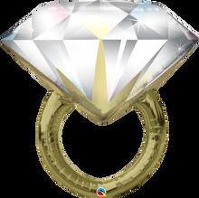 "37"" Shape Diamond Wedding Ring"
