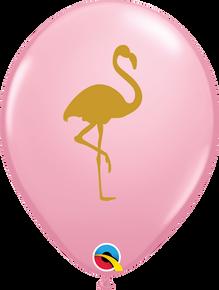 "11"" Round Latex Balloon Flamingo Pink"