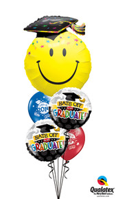 Balloon Bouquet: Keep on Smilin' Grad