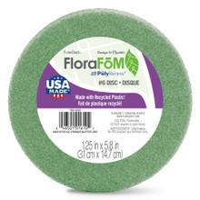 "Styrofoam Disc - Green - 6"""