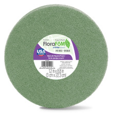 "Styrofoam Disc - Green - 9"""