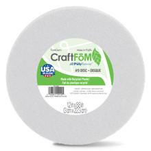 "Styrofoam Disc - White - 9"""