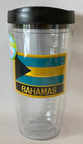 Tumbler - Bahamas Flag Patch - Large