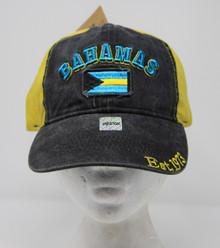 Cap - Bahamas - Yellow/Black