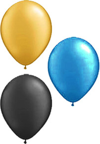 Solid Latex Balloons - 25pk