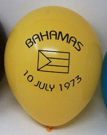 Bahamas Printed Balloon
