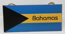 Bahamas Flag Plaque