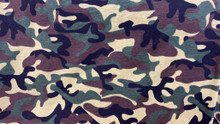 Camoflauge Fabric - Green/Brown Mix